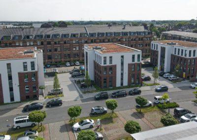 Neubau von 3 Büro- und Verwaltungs-Gebäuden
