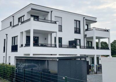 Errichtung eines Mehrfamilienhauses