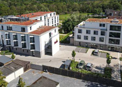 Neubau einer Seniorenresidenz mit 85 Zimmern, Büros und 15 Wohnungen
