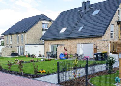 Wohnen im Rosenpark, Neubau von 37 Einfamilienhäusern