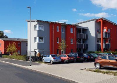 Neubau von 3 Mehrgenerationshäusern mit 21 Wohneinheiten