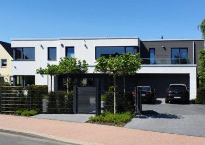 Neubau einer modernen EFH-Wohnanlage