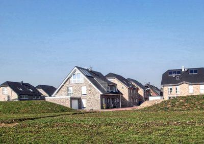 Neubau von 32 Doppelhaushälften