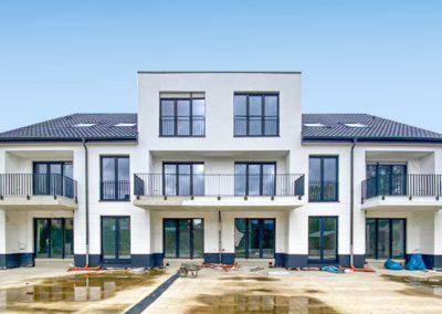 Neubau von 2 Mehrfamilienhäusern mit 12 Wohneinheiten und Tiefgarage