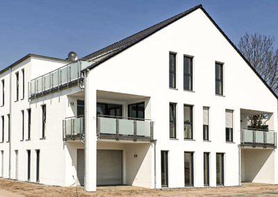 Neubau von 10 seniorengerechten Wohnungen und Quartiersräumen