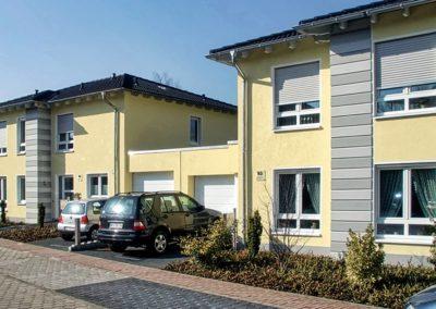 Neubau von 2 Mehrfamilienhäusern mit jeweils 5 Wohneinheiten