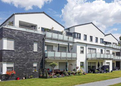 Neubau einer Mehrfamilienhaus-Anlage mit 24 Wohnungen und Tiefgarage