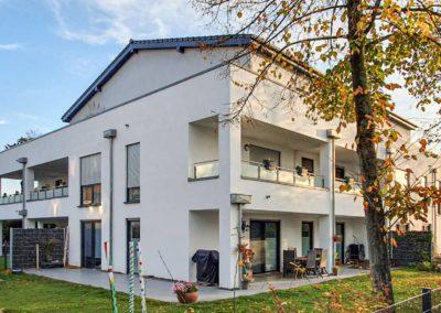 Neubau eines Mehrfamilienhauses mit 16 Wohneinheiten