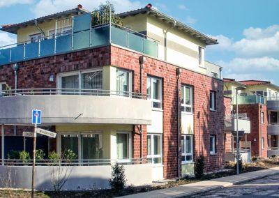 Neubau von 2 Wohnhäusern mit je 5 Wohneinheiten und Tiefgarage